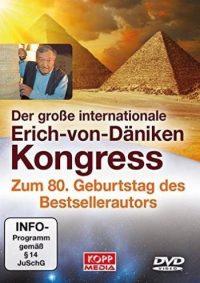 """Erich von Däniken: """"Der große internationale Erich-von-Däniken-Kongress zum 80. Geburtstag des Bestsellerautors"""" (Set mit 3 DVDs)"""