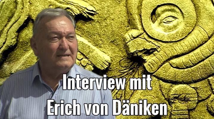 """Interview mit Erich von Däniken : """"UFOs? - Ich bin da einfach verunsichert, ich weiß selber nicht mehr, was ich sagen soll."""" (Bild: E. v. Däniken / Montage: L. A. Fischinger)"""