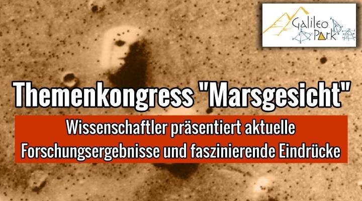 """30. Juli 2016: Kongress """"Marsgesicht"""" von Dr. Detlef Hoyer im """"Galileo-Park"""" Lennestadt (Bild: NASA / Galileo-Park.de)"""