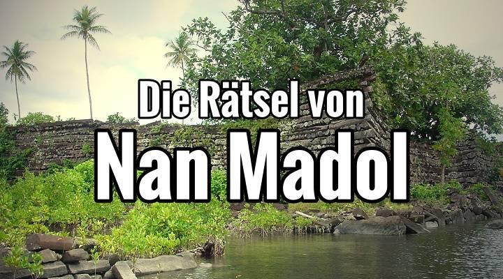 Kleine Teilansicht der versunkenen Stadt Nan Madol mitten um Pazifik im Pazifik (Bild: W.-J. Langbein)
