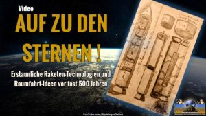 Auf zu den Sternen im 16. Jahrhundert: Raketentechnologien und Raumfahrtpläne vor fast 500 Jahren! (Bild: /NASA / gemeinfrei / Montage: L. A. Fischinger)