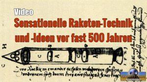 VIDEO: Moderne Raketentechnologien und -Ideen vor 500 Jahren: Drei-Stufen-Raketen und Raumfahrt-Visionen im Jahr 1555 (Bild: gemeinfrei)
