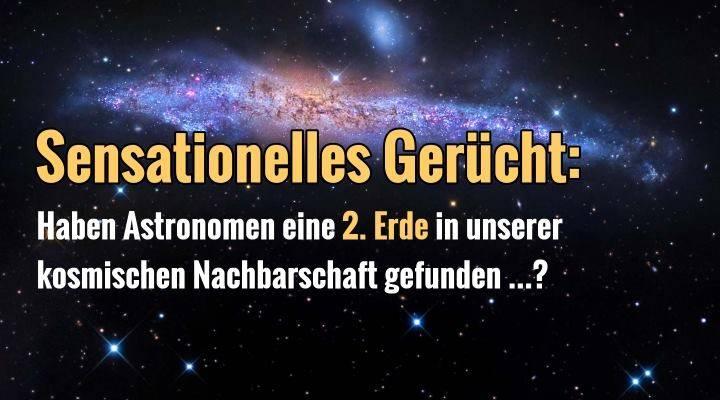 """Bewohnbarer Planet vor unserer kosmischen Haustür gefunden? Die Gerüchte um eine """"Erde 2.0"""" um den Stern Proxima Centauri brodeln … (Bild: NASA / Bearbeitung: L. A. Fischinger)"""
