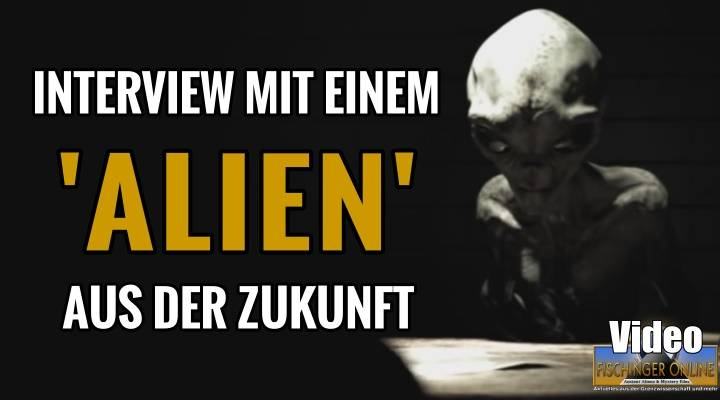 "Interview mit einem Alien - Top Secret Film des ""Project Blue Book"" oder Fake? wenn ja: Von wem? (Bild: YouTube-Screenshot / Montage: L. A. Fischinger)"