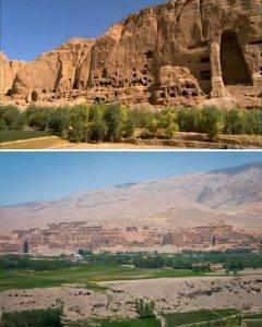 Das Tal von Bamian/Bamiyan - Eingang in eine verlorene Welt? (Bilder: gemeinfrei/WikiCommons)
