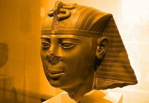 Bildnis des Pharao Amasis / Ahmose II. (Bild: L. A. Fischinger)