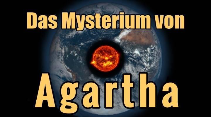 Das Mysterium von Agartha: Eine verlorene Welt oder Stadt aus grauer Vorzeit im Inneren der Erde? Oder nur eine Legende? (Bilder: NASA/JPL / Montage: L. A. Fischinger)