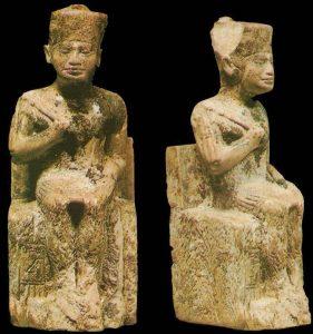 Die bisher einzige bekannte Darstellung der Pharao Cheops (Bilder: L. A. Fischinger)