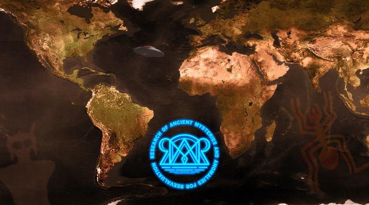 """Das Online-Projekt """"RAMAR"""" ist gestartet. Eine interaktive Webseite zur """"Erforschung vorzeitlicher Mysterien und Anomalien für eine Neubewertung"""" (Bild: Logo RAMAR / WikiCommons / L. A. Fischinger / Bearbeitung: L. A: Fischinger)"""