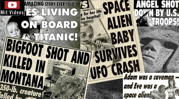 """Völlig verrückte Mystery-News aus den USA (Bild: Archiv L.A. Fischinger / """"WWN"""")"""