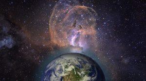 SETI und die Suche nach Leben im All: Neue Wege bei der Suche nach Außerirdischen? (Bild: NASA/JPL-Caltech / Montage: L. A. Fischinger)