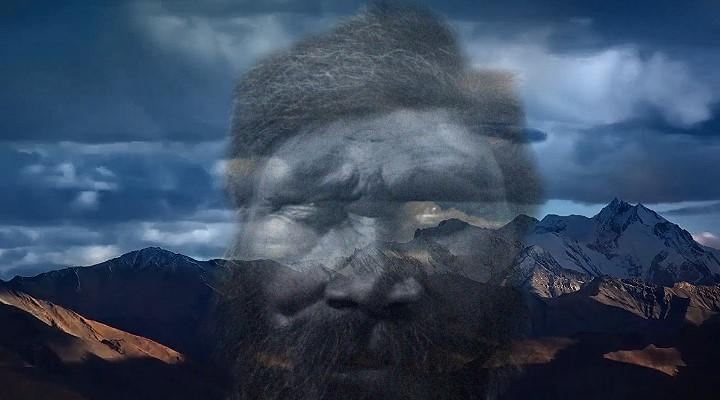 Sensationelle Entdeckungen: das Hochland von Tibet wurde schon vor bis zu 12.670 Jahren besiedelt! (Bild: Public Domain / Bearbeitung/Montage: L. A. Fischinger)