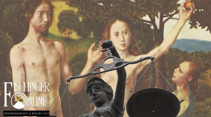 ARTIKEL: Die Vertreibung aus dem Paradies und der Sündenfall der Menschheit: Klarer Freispruch für Eva im Garten Eden! (Bilder: gemeinfrei / Montage: Fischinger-Online)