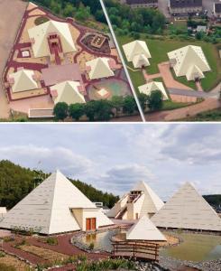 """Die """"Sauerland-Pyramiden"""": der Galileo-Park Lennestadt (Bilder: Galileo-Park.de)"""