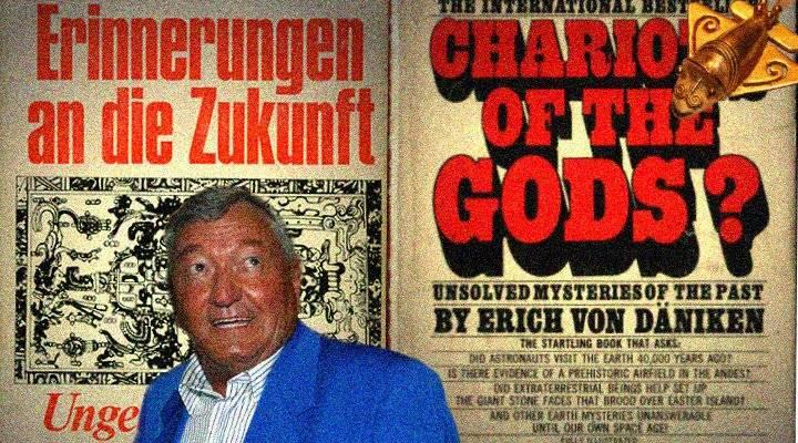 Erich von Däniken und die Prä-Astronautik als Thema einer Doktorarbeit (Bilder: Archiv L. A. Fischinger)