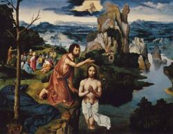 Johannes der Täufer tauft Jesus Christus (Bild: gemeinfrei)