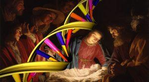 Kann man durch DNA-Untersuchungen tatsächlich Verwandte von Jesus Christus finden? (Bilder: gemeinfrei / Montage L. A. Fischinger)