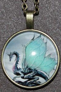 Kette mit Drachen-Anhänger – Schutzamulett: Das Symbol für Reinheit, Glück und Hoffnung