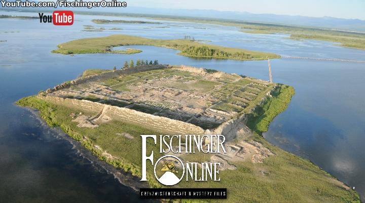 Die geheimnisvolle Ruinenstätte von Por-Bazhyn mitten in Sibirien (Bild: Por-Bajin Culture Foundation)