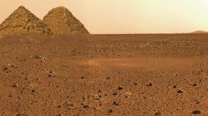 Ein US-Kongressabgeordner wollte von der NASA wissen, ob es einst eine Zivilisation auf dem Planten Mars gab (Bild: NASA / L. A. Fischinger / Montage: L. A. Fischinger)