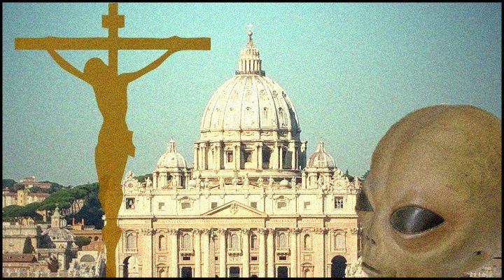 Außerirdische taufen? Der Astronom des Papstes würde es tun - aber nicht nur er (Bilder & Montage: L. A. Fischinger)
