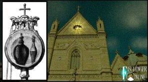 """Das """"Blutwunder"""" des heiligen Januarius von Neapel: Es trat auch 2017 ein (Bilder: gemeinfrei / Bearbeitung: L. A. Fischinger)"""