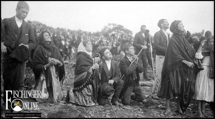 Die Marienerscheinungen von Fatima 1917 und der Beamer der Götter (Bild: gemeinfrei)