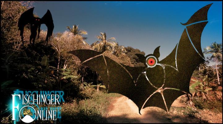 Popobawa: Das Batman-Monster von Sansibar in Afrika (Bilder: gemeinfrei / mothmanfestival.com / CNN.com / Montage: Lars A. Fischinger)