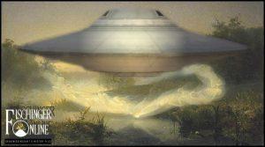 """""""So rasch wie der Wind"""": Eine UFO-Entführung vor Jahrhunderten in Irland? (Bild: gemeinfrei / Bearbeitung & Montage: L. A. Fischinger)"""