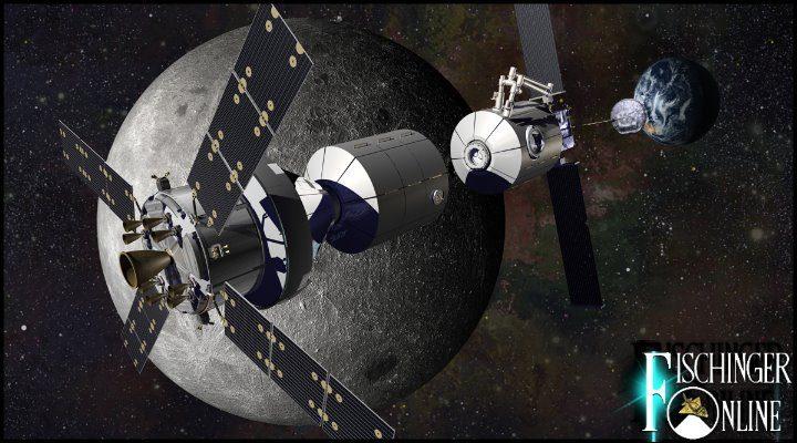 """""""Deep Space Gateway"""": Die erste bemannte Raumstation um den Mond soll 2022 kommen"""