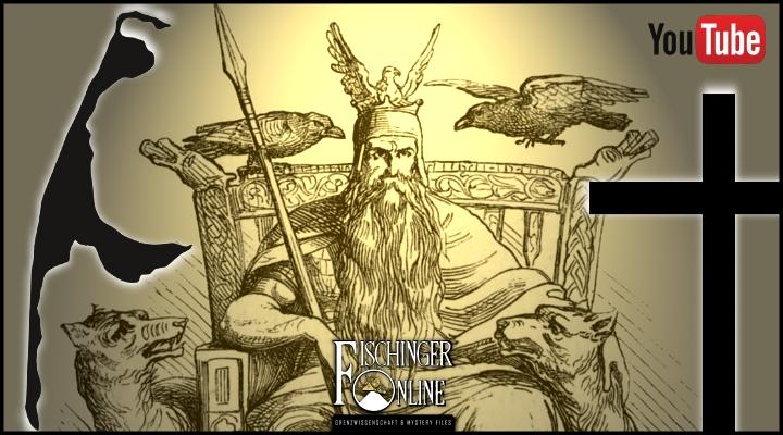 Der nordische (germanische) Gott Odin und das Christentum auf Sylt (Bild: gemeinfrei / Bearbeitung: L. A. Fischinger)
