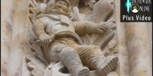 Der Astronaut an der Kathedrale (Bild: gemeinfrei/WikiCommons)