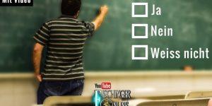 1. Ergebnisse der YouTube-Umfrage, ob UFOs, Erich von Däniken, Grenzwissenschaft, Mystery & Co. auf den Lehrplan der Schule sollten (Bild: gemeinfrei / L. A. Fischinger)