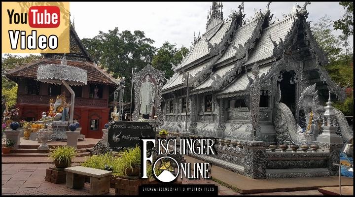 Wie kommen UFOs und Aliens in den Silber Tempel von Wat Sri Supan in Thailand? (Bild: gemeinfrei)