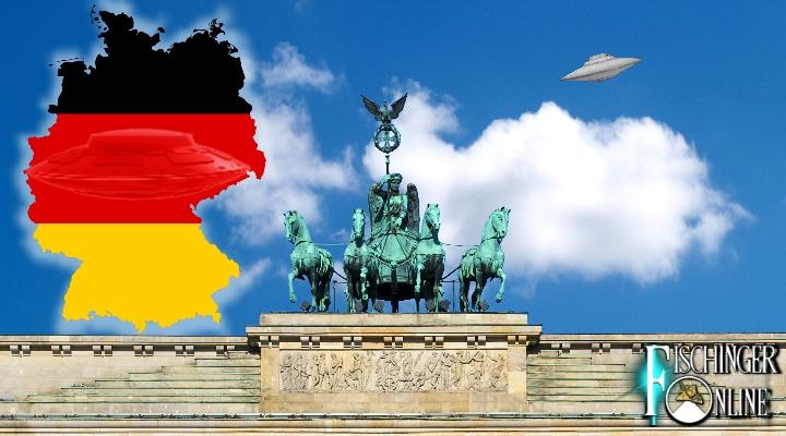 """UFOs über Deutschland und in aller Welt:- Interaktive """"UFO-Weltkarte"""" online (Bilder: gemeinfrei / Montage: L. A. Fischinger))"""