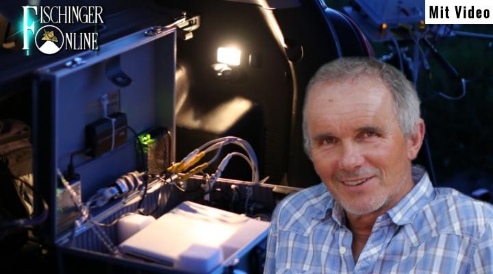 """""""Was erwartet man von Gutmenschen-TV?"""": UFO-Forscher Gerhard Gröschel im TV-Interview (Bild: G. Gröschel / L. A. Fischinger)"""