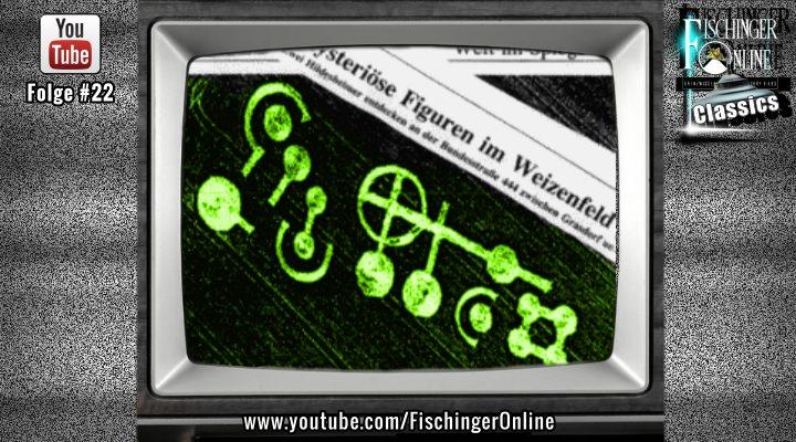 TV-Boulevard-Bericht von 1994 über den Kornkreis von Grasdorf 1991 in Norddeutschland (Bild: gemeinfrei/ Montage: L. A. Fischinger / YouTube-Screenshot)