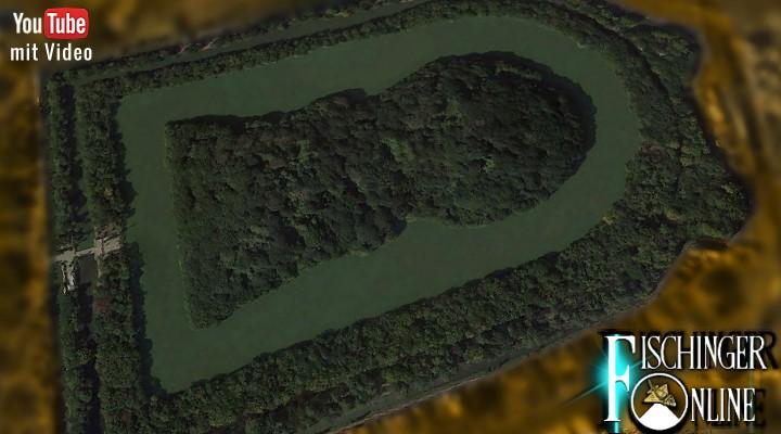 """Die riesigen """"Schlüsselloch-Grabanlagen"""" von Japan sollen Weltkulturerbe werden (Bild: Google Earth / Bearbeitung: Fischinger-Online)"""