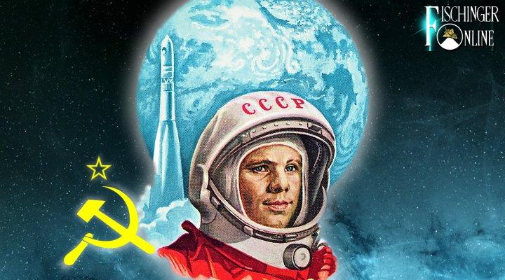 War Juri Gagarin 1961 wirklich der erste Mensch im All? (Bilder: gemeinfrei / Montage: Fischinger-Online)