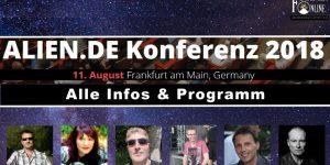 Alien.de-Konferenz am 11. August 2018 in Frankfurt/M.: Alle Infos, Details, Anmeldung und das Programm (Bild: M. Schädler / Fischinger-Online)