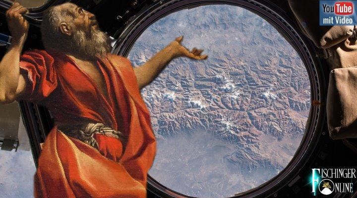 Die Himmelsreise des Abraham - War der biblische Stammvater im All? (Bilder: gemeinfrei / Montage: Fischinger-Online)