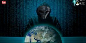 Cyberkrieg aus dem All: Könnten Alien Hacker die Menschheit angreifen und bedrohen? (Bilder: gemeinfrei / Montage: Fischinger-Online)