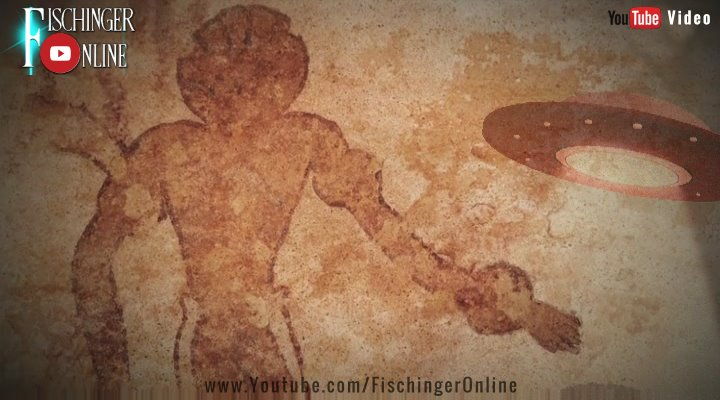 """Unboxing-Video zu """"Galaktische Horizonte: Die Suche nach den Ancient Aliens"""" und mehr """"Kosmische Spuren"""": (Bilder: Archiv E. v. Däniken / gemeinfrei / Montage: Fischinger-Online)"""