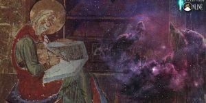 """Der Prophet Esra, """"der Schreiber der Wissenschaft des Höchsten"""", und seine rätselhaften Überlieferungen im Sinne der Prä-Astronautik gesehen (Bilder: gemeinfrei / Montage: Fischinger-Online)"""