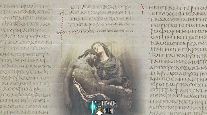 Die Fälschung des Markus-Evangelium und weitere Manipulation um Jesus