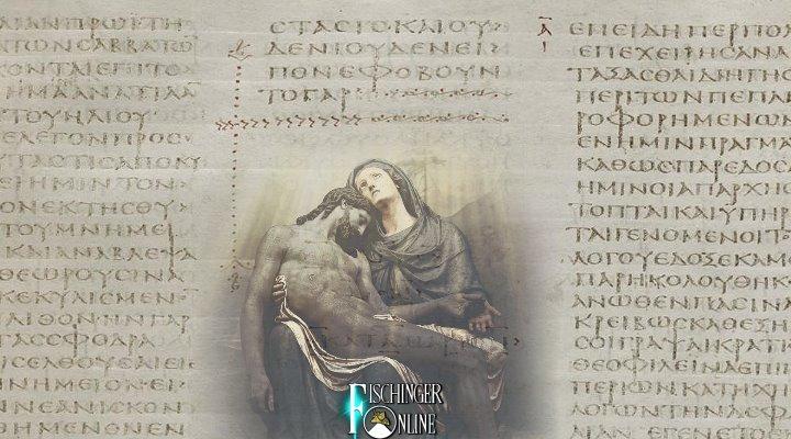Die Fälschung des Markus-Evangelium und weitere Manipulation um Jesus Christus - niemanden scheint es zu stören! (Bilder: gemeinfrei / Montage: Fischinger-Online)