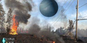 """Kilauea-Ausbruch auf Hawaii: Nibiru sei der Grund, sagt """"der wichtigste Nibiru-Prophet"""" (Bilder: gemeinfrei / Montage: Fischinger-Online)"""