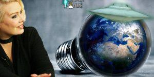 Sängerin Kim Wilde glaubt, dass vielleicht Außerirdische die Erde retten (Bilder: gemeinfrei / Montage: Fischinger-Online)
