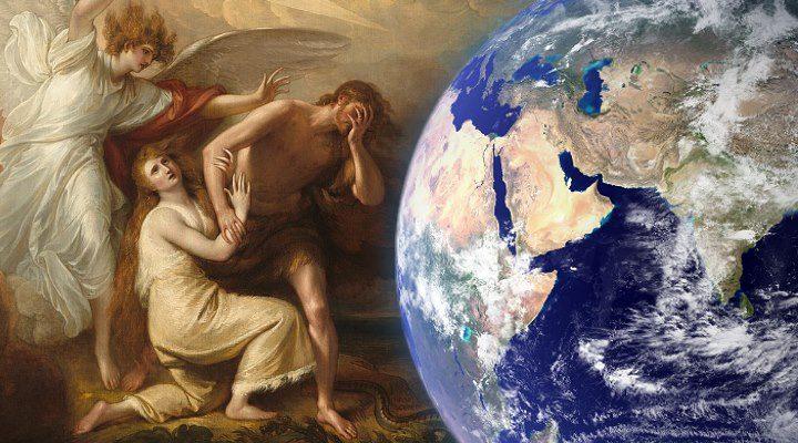 ARTIKEL: Der Garten Eden lag im All und der Mensch aus dem Kosmos