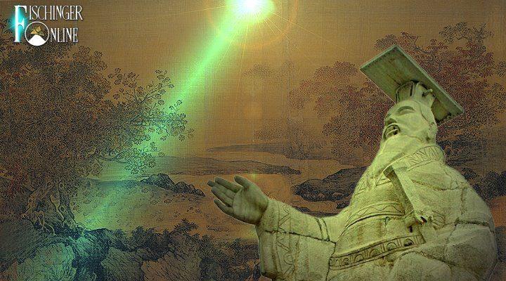 Der chinesische Adam und das überirdische Wesen von den Sternen